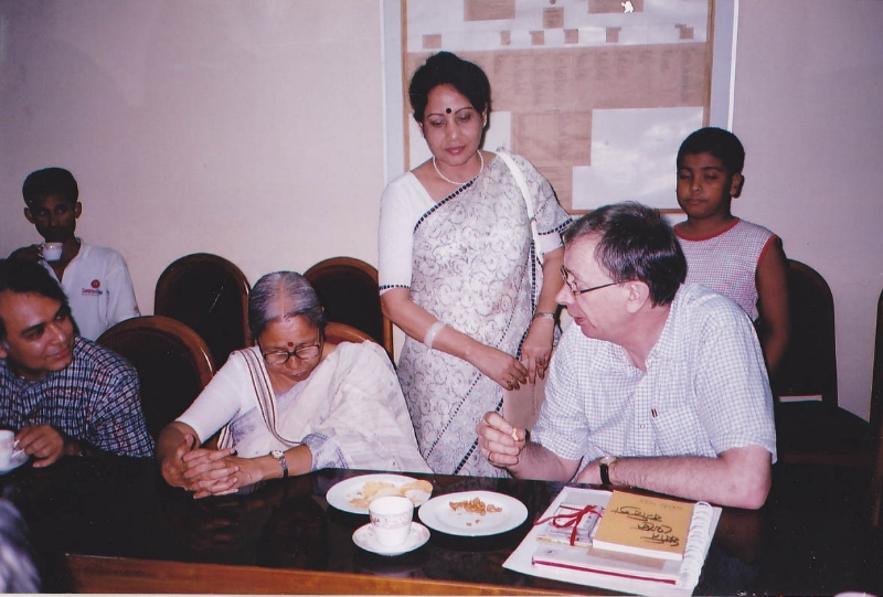 at-bangla-academy-prof-sanjeeda-khatun-and-prof-william-radice