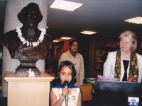 111-robert-library-at-uft-campus-a-girl-was-reciting-from-rabindranath-tagore