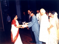 receiving-national-award-from-the-president-of-bangladesh-on-8-september-1997-the-international-literacy-day